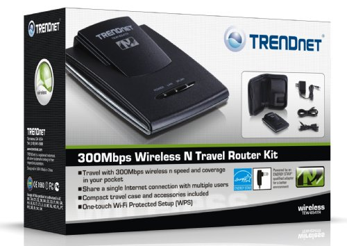 TRENDnet Wireless N 300 Mbps Travel Router Kit, TEW-654TR by TRENDnet (Image #3)