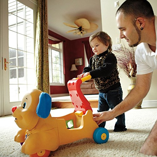 511rc1 bYSL - Fisher-Price Laugh & Learn Stride-to-Ride Puppy [Amazon Exclusive]