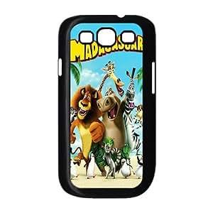 Customize Cartoon Madagascar Back Cover Case for SamSung Galaxy S3 i9300 JNS3-835