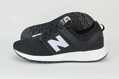 e27a8ad24f0c4 Amazon.com | New Balance 247 Shoe Juniors Casual 3.5 Black-White | Shoes