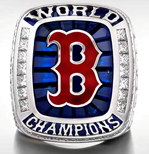 2018 World Series Ring - SBCRING Red Sox (Steve Pearce) 2018 Replica Baseball Championship Ring(Boston, 10)