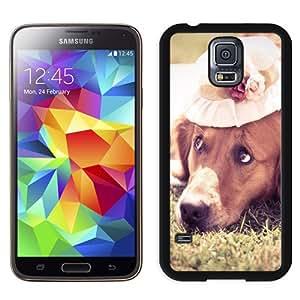 Beautiful Custom Designed Samsung Galaxy S5 I9600 G900a G900v G900p G900t G900w Phone Case For Sad Dog On The Grass Phone Case Cover