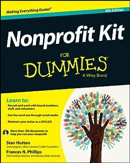 Nonprofit Kit For Dummies by [Hutton, Stan, Phillips, Frances]