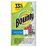 Bounty Select-A-Size Paper Towels, Print, 1 Big Roll = 33% More Sheets