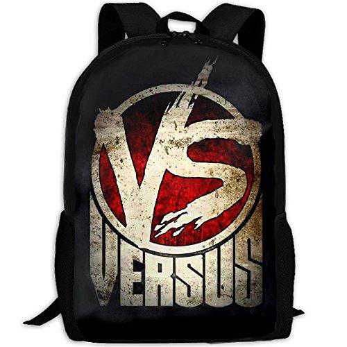 WANGZII Oxxxymiron Versus Hip Hop Rap Battle Backpack For Women Men,School Hip Hop College Backpack Lightweight Packable Travel Hiking Fashion Backpack