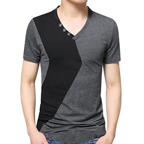 2483b7dc54a31 chic FAMILIZO Camisetas Manga Corta Hombre Moda Camisetas Hombre Algodón  Camisetas Hombre Tallas Grandes Camisetas Hombre