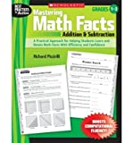 img - for Mastering Math Facts: Addition & Subtraction: Grades 1-3 (Best Practices in Action) (Paperback) - Common book / textbook / text book
