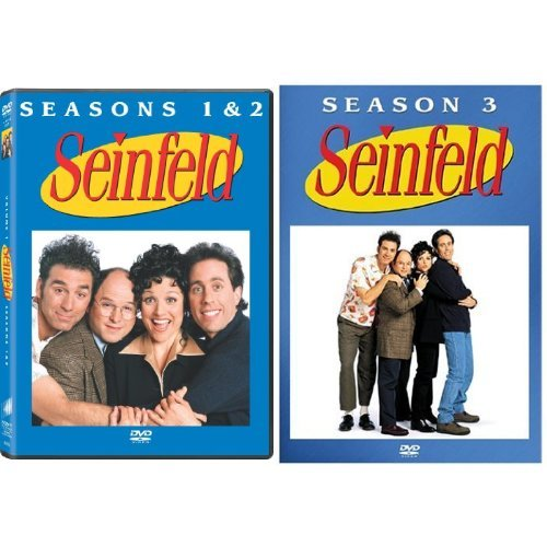 Seinfeld: The Complete First and Second Seasons + Seinfeld The Complete Third Season
