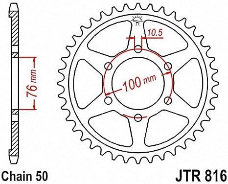 JT Sprockets JTR816.38 38T Steel Rear Sprocket