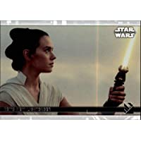 2020 Topps Star Wars The Rise of Skywalker Series 2#99 Rey's New Lightsaber Trading Card