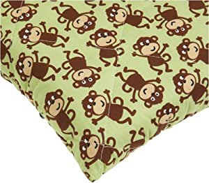 Carter S Quilted Woven Playard Fitted Sheet Monkey