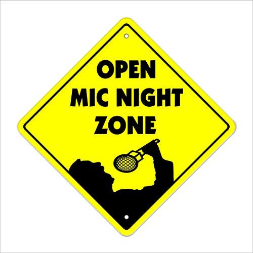 Openmic Crossing Sign Zone Xing | Indoor/Outdoor | 12