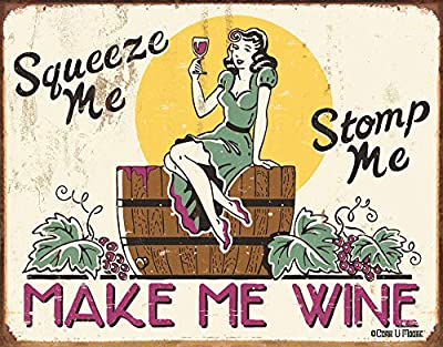 Desperate Enterprises Wine Tin Signs