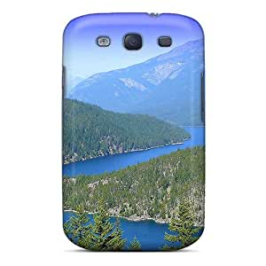 Pjv24184TMmu Snap On Cases Covers Skin For Galaxy S3(diablo Lake) Black Friday