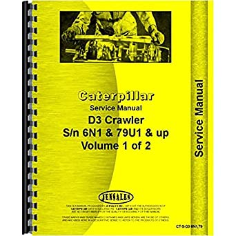for caterpillar d3 crawler service manual new amazon com rh amazon com caterpillar service manuals for sale caterpillar service manuals free download