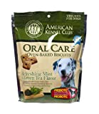 AKC Oral Care Oven-Baked Biscuits with Refreshing Mint and Green Tea Flavor, My Pet Supplies