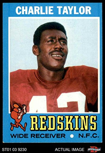 1971 Topps # 26 Charlie Taylor Washington Redskins (Football Card) Dean