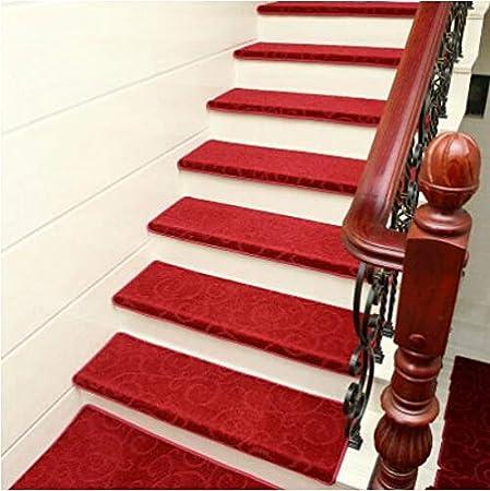 KY&CL Manta Antideslizante de Escalera, escaleras de Escalera de pisadas no Slip Juego Interior de 1 alfombras de Escalera Cubre Alfombrillas, (75 * 24cm),D,75 * 24 * 3cm: Amazon.es: Hogar