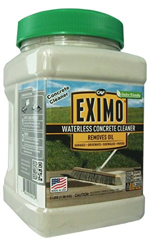 CAF Outdoor Cleaning EXIMO Waterless Concrete Cleaner - 3 lb. (Best Concrete Cleaner Oil Stains)