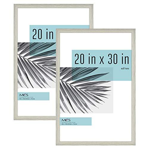 MCS Industries Studio Gallery Frames, 20×30 in, Gray Woodgrain, 2 Count