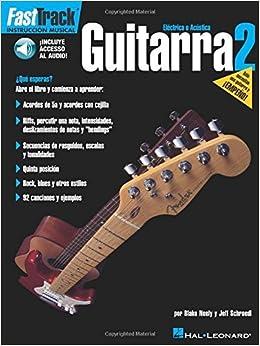 FastTrack Guitarra Book & Online Audio SPANISH GUITAR by Jeff Schroedl (2002-10-01) Paperback – 1713