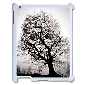 taoyix diy Skull Tree ZLB519042 Customized Phone Case for Ipad 2,3,4, Ipad 2,3,4 Case