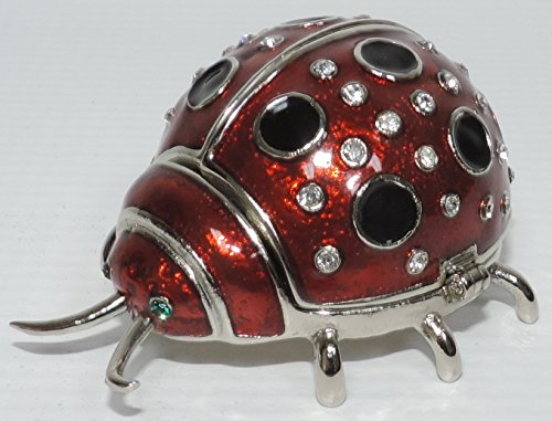 Decorative Ladybug Trinket Box