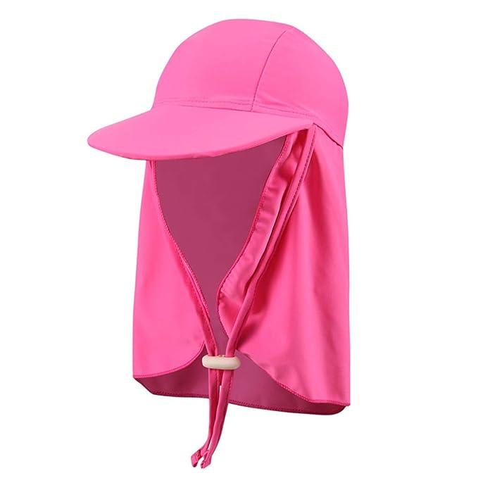 Bambini Cappello Da Sole Cuffia Da Nuoto - Berretto Per Bambina E Bambino  Cappello Protezione Solare Cappello Spiaggia Estate  Amazon.it   Abbigliamento 0e01da7a6eae