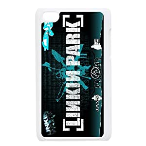 Popular band linkin park logo poster Hard Plastic phone Case Cover FOR IPod Touch 4 FAN214209