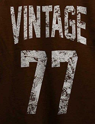 Vintage 1977 Couleurs Marron shirt T Différentes tailles 7Tgw7rqx