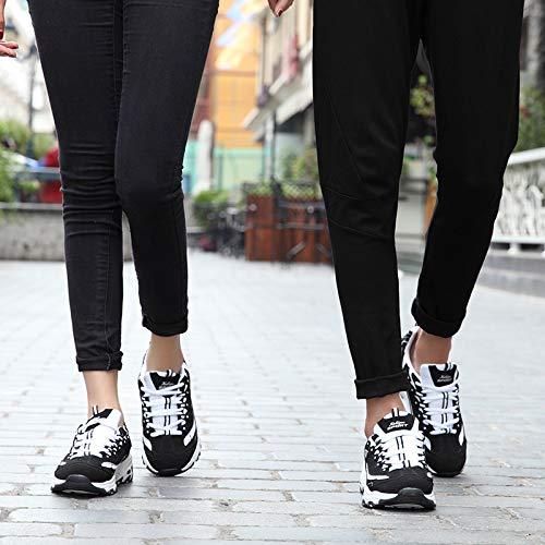 KPHY und Damenschuhe Student Sportschuhe Atmungsaktive Schuhe Männer und KPHY Frauen Schuhe Liebhaber-Freizeit Schwarz 37 52eab5