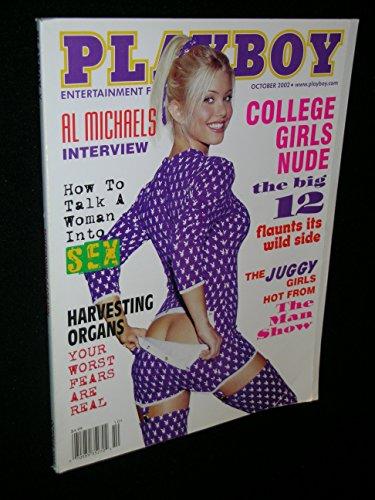 Playboy Magazine, October 2002