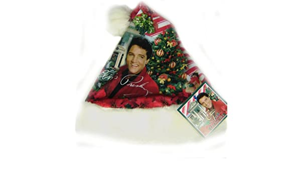 6f90c35703880 Amazon.com  Elvis Presley Christmas Hat by Limited Treasures - Graceland  Christmas  Health   Personal Care