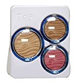 Physician Formula Talc-Free Mineral Wear (Pressed Powder,Bronzer Blush) Airbrushing SPF30 3 pc complexion Kit: Medium