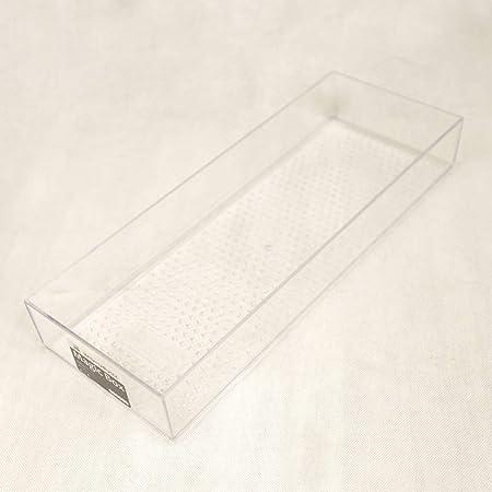 YYDDZ Simple Divisores de cajón,Caja de Almacenamiento Separadores de cajón Plástico Cuchillería Premium Bandeja de utensilio Cajón de Cubiertos Surtido con Acanalado-R 40x15x6cm(16x6x2): Amazon.es: Hogar
