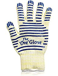 Azzel Oven Glove Heat Resistant Cooking Bbq,Grill,Baking, (Set of 2)