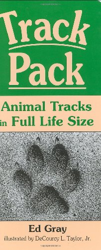 Track Pack: Animal Tracks in Full Life Size Gray Pack