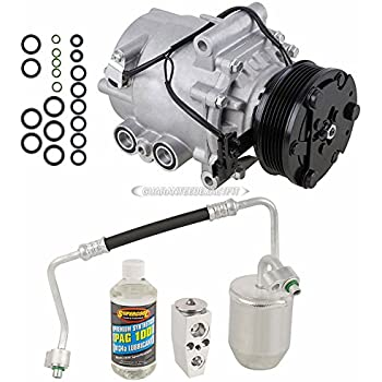 AC Compressor w/A/C Repair Kit For Saturn Vue 2006 2007 - BuyAutoParts 60-81286RK New