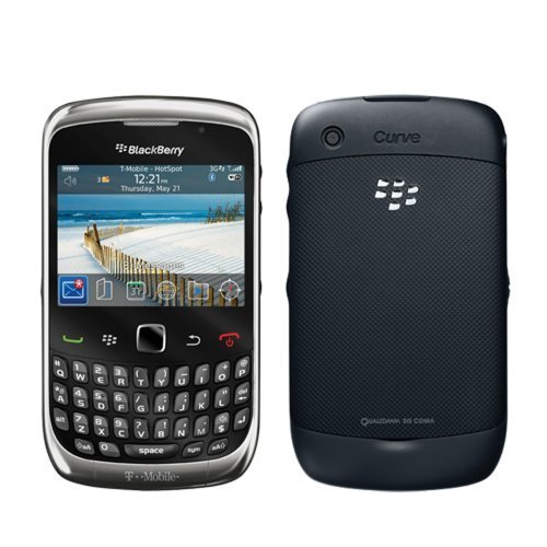 BlackBerry Curve 3G 9300 Black WiFi Unlocked QuadBand Cell Phone (Rim Blackberry 3g)