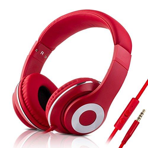 (Head-arch headphones The single plug headset Trend of the earmuff headphones-B)