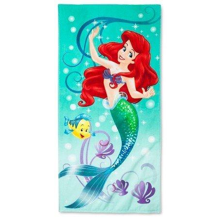 Little Mermaid Beach Towel 28 x 58 inches