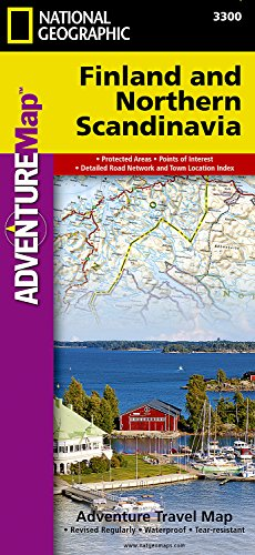 Finland and Northern Scandinavia (National Geographic Adventure Map)...