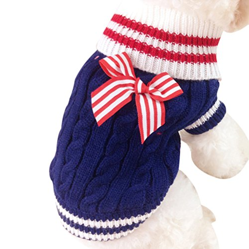 Uniquorn Pet Lovers Christmas Clothes Poodle Bichon Teddy Small Dog Warm And Comfortable Clothes Cute Fashion Dog Clothing In Autumn And Winter (Dog Costumes Halloween Canada)