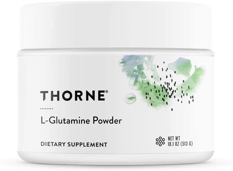 Thorne Research – L-Glutamine Powder – Glutamine Powder for GI Health and Immune Function – 18.1 oz