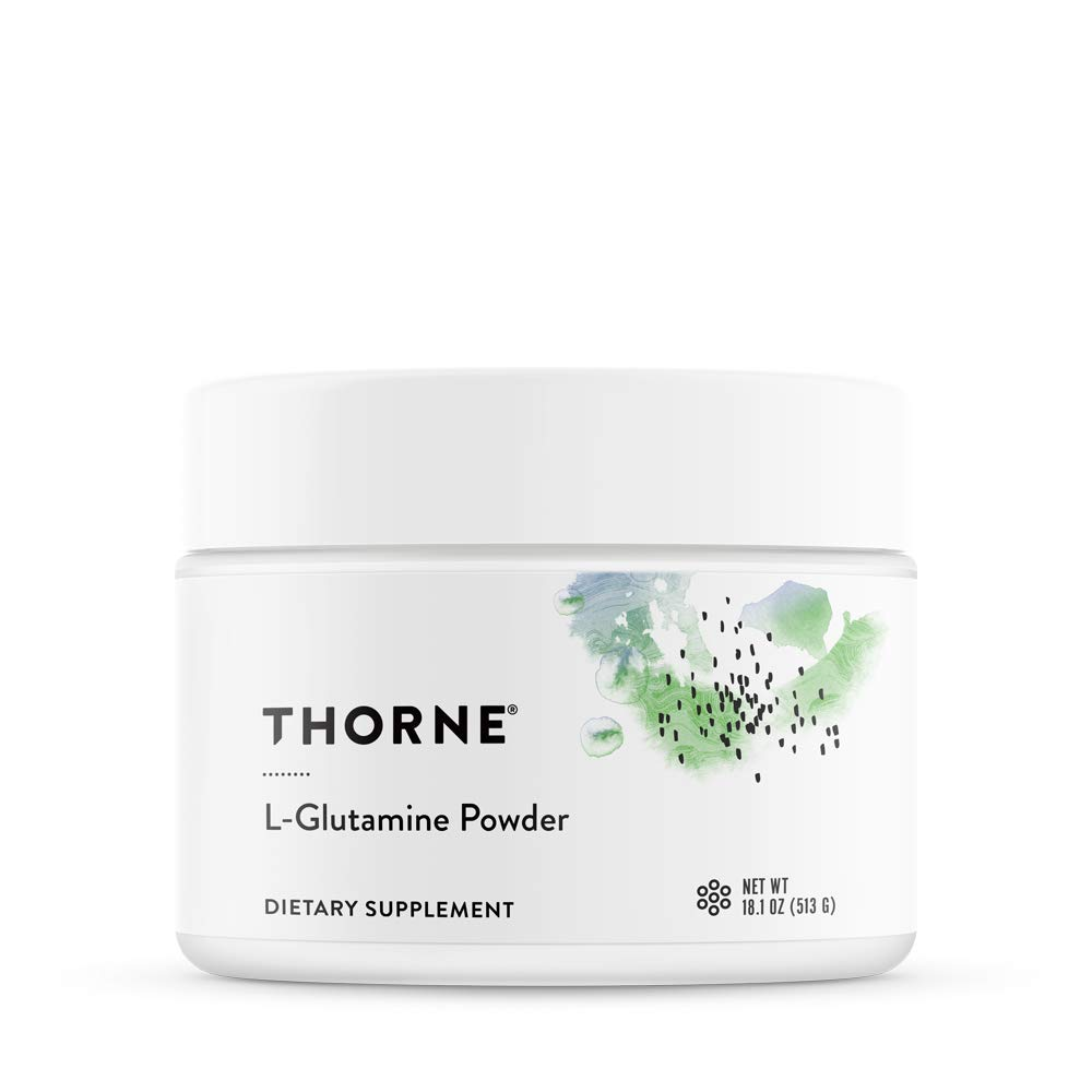 Thorne Research - L-Glutamine Powder - Glutamine Powder for GI Health and Immune Function - 18.1 oz by Thorne Research