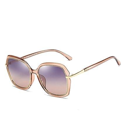 H.Y.FFYH Gafas de Sol Gafas de Sol para Mujer Luz polarizada ...