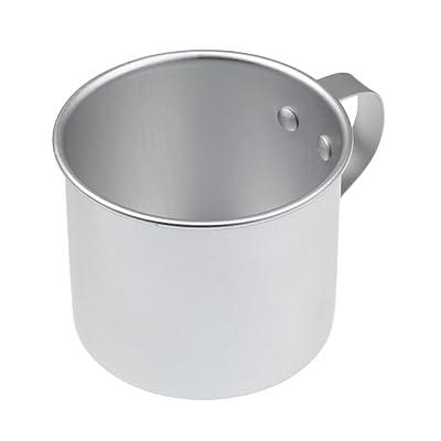 MagiDeal 300ML Camping Mug Tasse de Thé Café en Aluminium