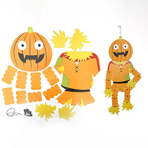 D3 Light Pendant (Elaco Halloween Hanging Witch Skeleton Paper Home Party Decoration Paper Pendant (D3))