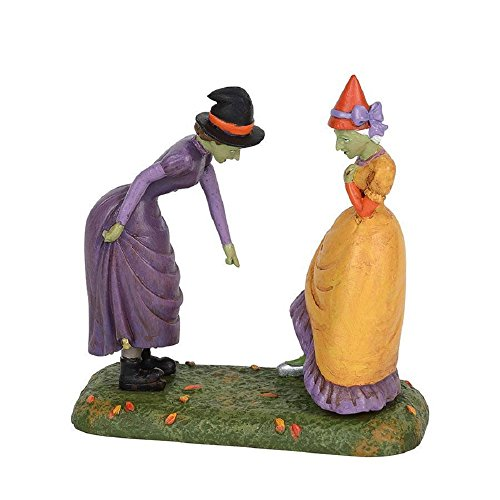 Department56 Snow Village Accessories Halloween Green with Envy Figurine, 3.5
