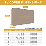 Outdoor TV Cover for 50 to 52 inches